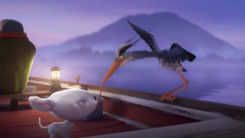 Joy und Heron