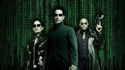 Die Titelfiguren aus der Matrix