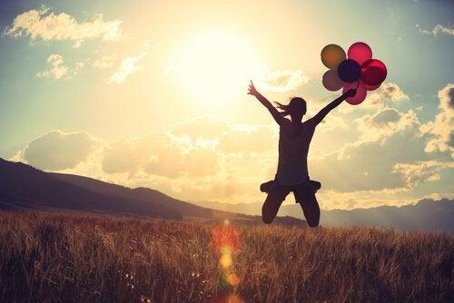 Mut bedeutet, das Gleichgewicht zu verlieren (für einen Moment)