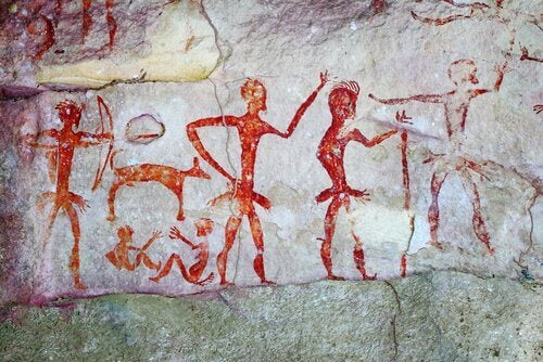 Rotfigurige Malereien