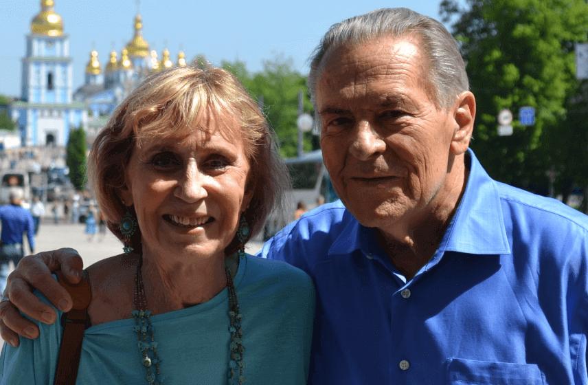 Christina Grof und ihr Mann