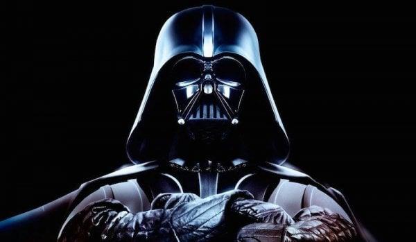Porträt, das Darth Vader zeigt