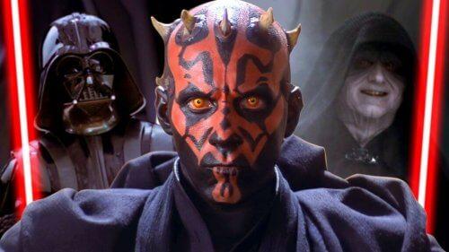 Die dunkle Seite der psychologischen Stärke verkörpert durch die Sith
