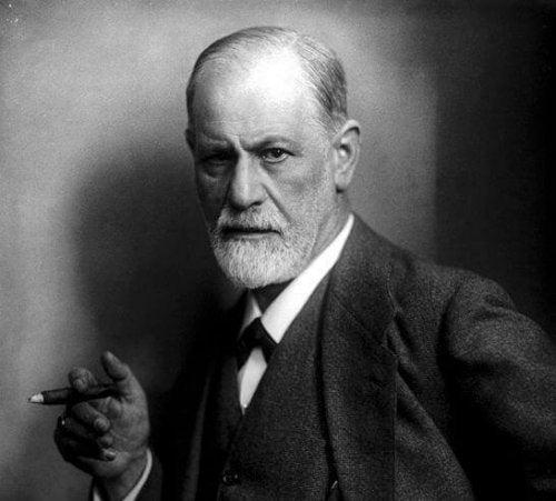 Sigmund Freud, der früher mit Wilhelm Stekel zusammenarbeitete