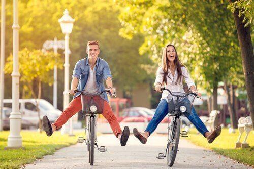 Radfahren als gemeinsames Hobby