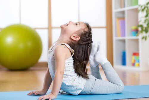 5 Yoga-Posen für Kinder