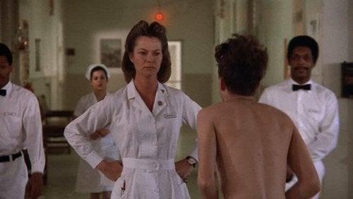 """Die Krankenschwester in """"Einer flog über das Kuckucksnest"""""""