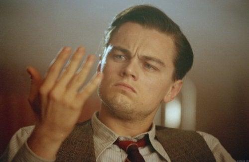 "Leonardo DiCaprio als Howard Hughes in ""The Aviator"""