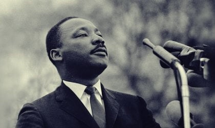Der Pazifist Martin Luther King
