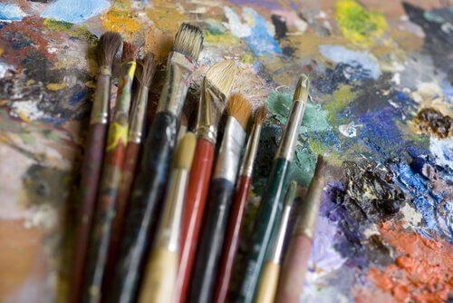 Eine der vielen kreativen Möglichkeiten: Malen.