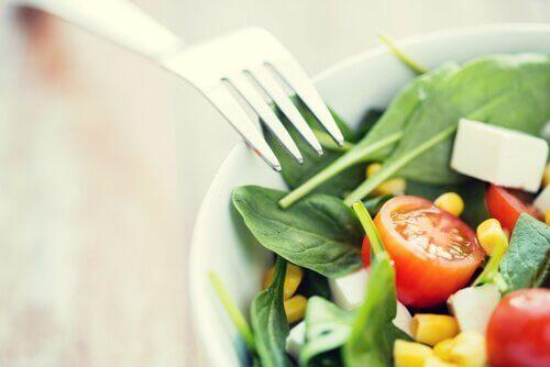 Eine leckerer Salat