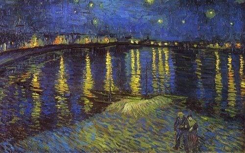 Sternennacht über der Rhône von Van Gogh