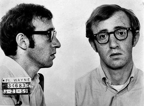 Woody Allen in jungen Jahren