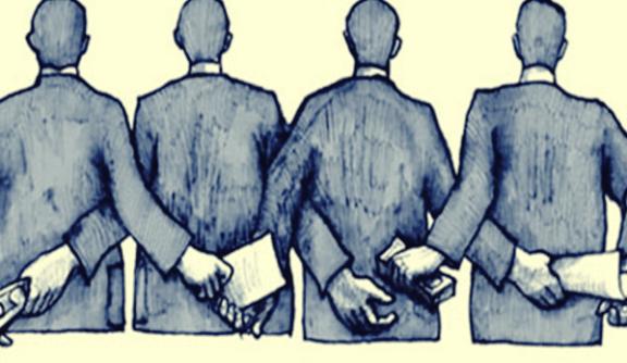 Korruption beginnt bei den einfachen Leuten