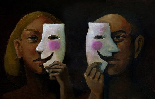 Entsprechend der sozialen Dramaturgie ändern sich unsere Rollen je nach Situation.