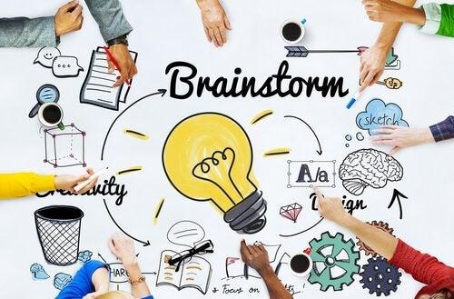 Brainstorming als Ursprung der SCAMPER-Methode
