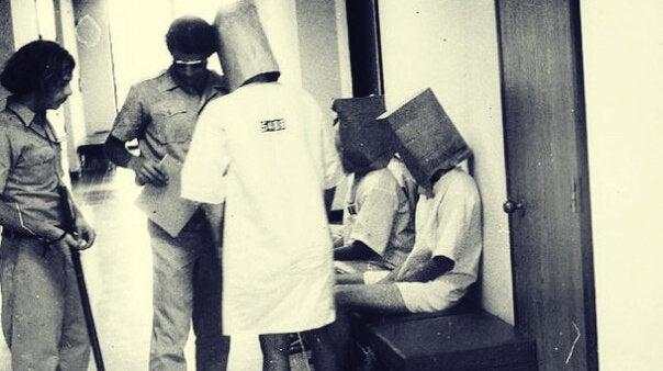 Foto des Stanford-Gefängnis-Experiments