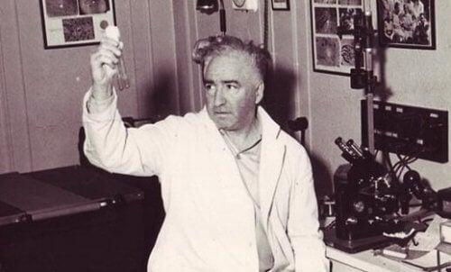 Wilhelm Reich in seinem Labor