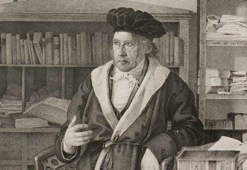Georg Friedrich Wilhelm Hegel, ein Philosoph des deutschen Idealismus
