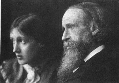 Virgnia Woolf und ihr Vater