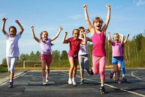 Warum sollten Kinder Sport treiben?