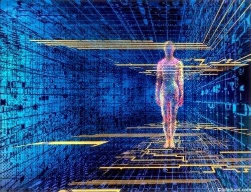 Virtueller Mensch