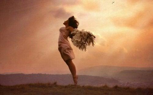 Zu wissen, wann man loslassen muss, ist das wahre Geheimnis des Wohlbefindens