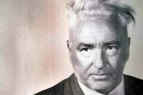 Ein Bild, das den Psychoanalytiker Wilhelm Reich zeigt