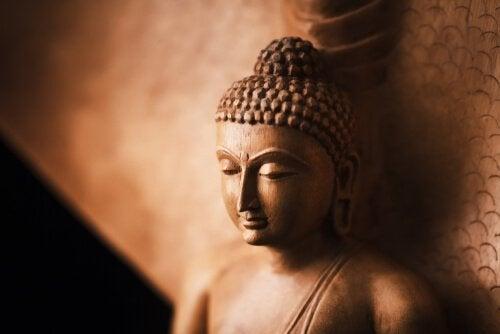 Eine buddhistische Geschichte über Geduld und geistige Stille