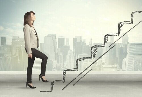 Um die Karriereleiter zu erklimmen, müssen wir Hochleistung erbringen.