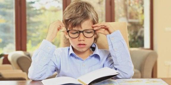 Kinder und Hausaufgaben