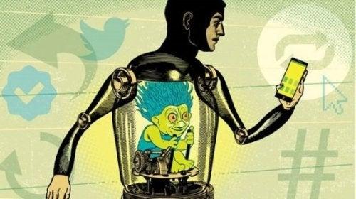 Trolle im Internet und ihre Aggressionen