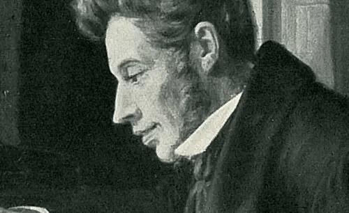 Søren Kierkegaard gezeichnet