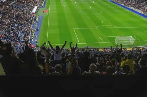 Fans im Fußballstadion