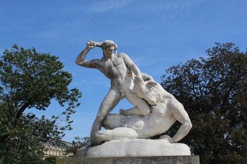 Statue von Theseus