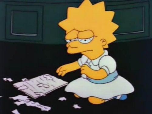 """Lisa Simpson ist eine tragische Figur in """"Die Simpsons""""."""