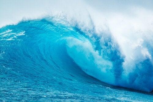 Die Metapher von den Wellen an der Küste