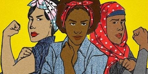 Diese Frauen repräsentieren verschiedene Arten von Feministinnen.