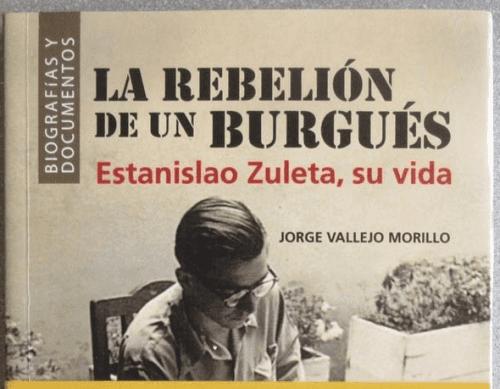 Buchcover mit Estanislao Zuleta darauf.