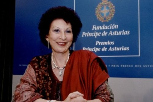 Fatima Mernissi ist eine marokkanische Feministin.