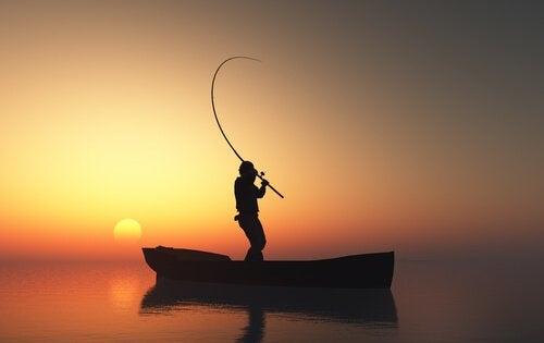 Der Fischer und die Schildkröte - eine tugendhafte japanische Legende