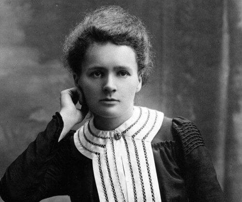 Marie Curie, eine beeindruckende wissenschaftliche Forscherin.