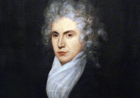 Ein Porträt, das Mary Wollstonecraft später in ihrem Leben zeigt.