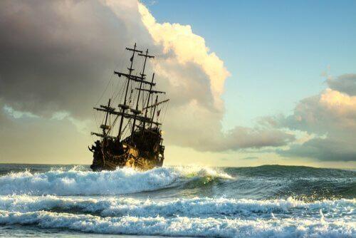 de Espronceda schrieb Geichte über die Außenseiter der Gesellschaft - wie zum Beispiel einem Pirat.