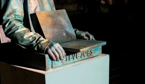 Statue von Steve Jobs