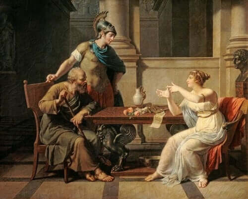 Aspasia und Sokrates