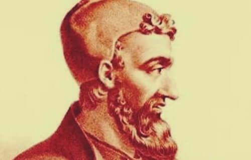 Der griechische Arzt Galenos, der Hippokrates Viersäftelehre aufgriff und verfeinerte.