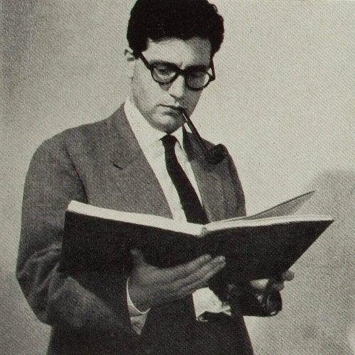 Junger Umberto Eco