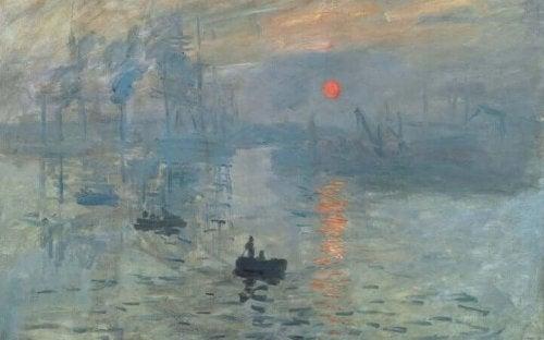 Monets 'Impression, Sonnenaufgang'