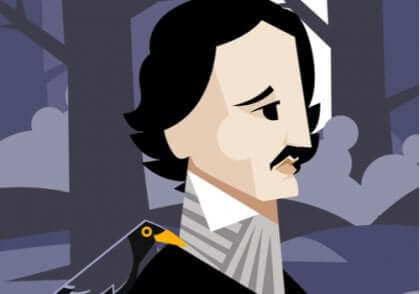 Edgar-Allan-Poe - Cartoon